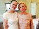 PR-Unternehmerin Brita Segger mit Schirmherrin Liz Mohn, Präsidentin der Stiftung Deutsche Schlaganfall-Hilfe
