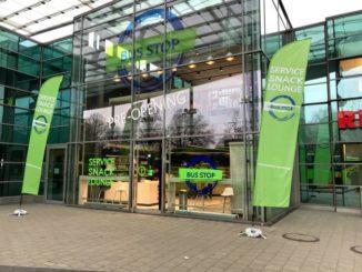 BusStop eröffnet am ZOB Hamburg