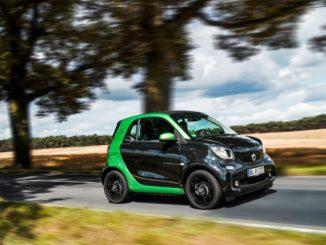 Der Smart Fortwo electric drive ist der Gesamtsieger des Umweltrankings 2017