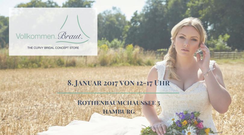 Vollkommen.Braut. - Eröffnungsparty am 8. Januar 2017 in Hamburg