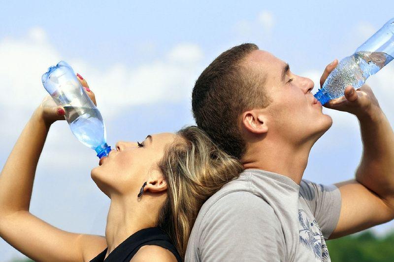 Kostenlos: Wasser am Hamburger Flughafen