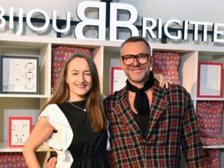 Christin Haenschke, Pressechefin Bijou Brigitte, und Star-Stylist Mads Rønnborg