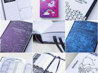 Kalender und Notizbuch in einem