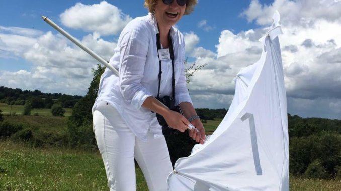 Picknick in Weiß - die Auftaktveranstaltung am 2. Juli - macht viel Spaß und bietet Naturgenuss