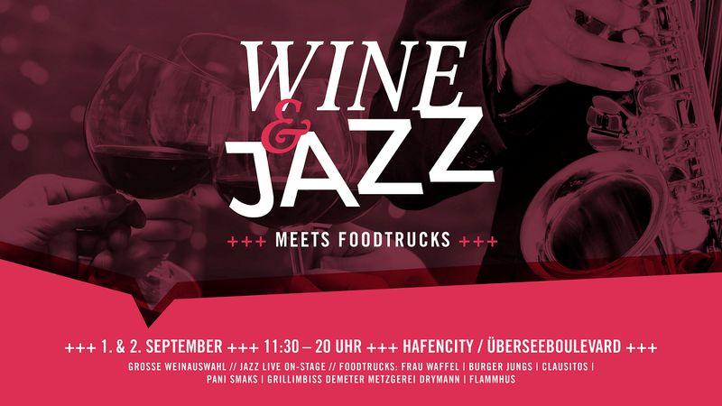 Jazz und Wine Festival in der Hafencity