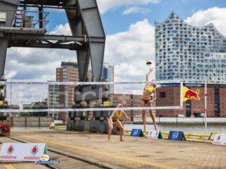 Online bei den Swatch Beach Volleyball World Tour Finals