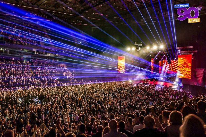 Mega90er Live-Party in Hamburg