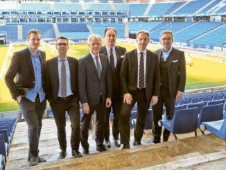 Marcell Jansen, Dr. Andreas C. Peters, Jens Meier, Max-Arnold Köttgen, Michael Krall, Felix Goedhart
