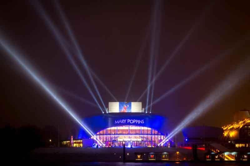 Mary Poppins Musical-Premiere in Hamburg