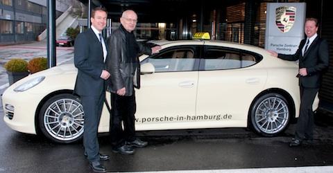 Panamera Taxi: Tetzloff, Heidrich, Zimmermann