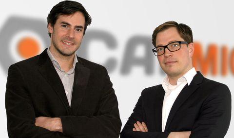 Carmio-Gründer: Nikolai Roth (links) und Cord-Christian Nitzsche