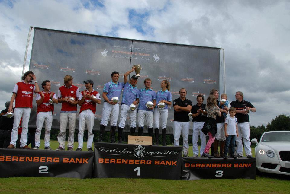 Siegerehrung beim Berenberg High Goal Cup – Düsseldorf 2012
