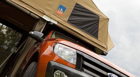 Dachzelt für den Ford Ranger Wildtrak von 3Dog Camping