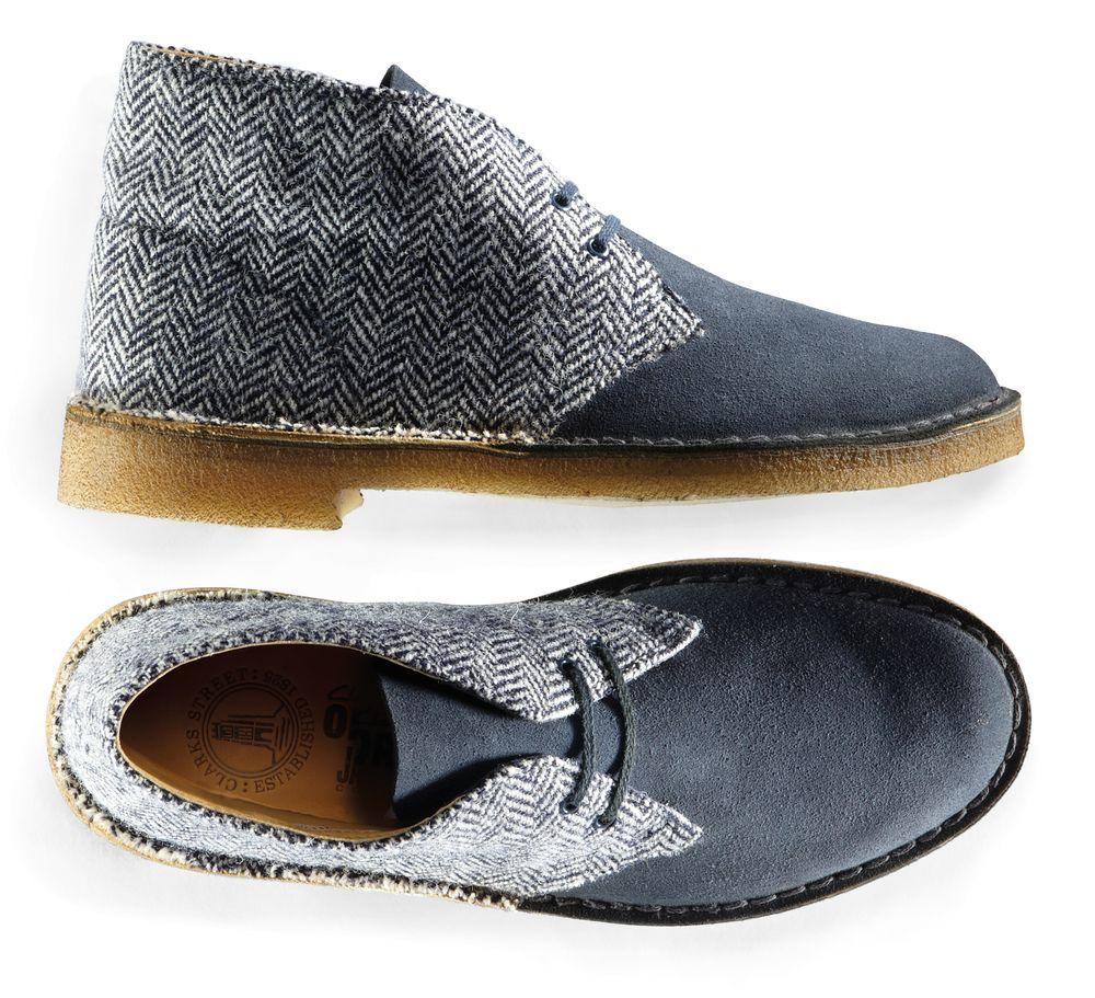 Desert Boot Harris Tweed