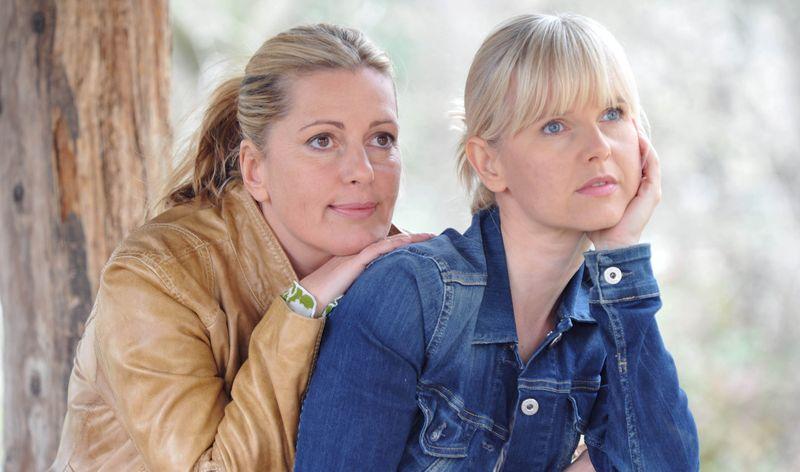 Karin Thaler und Bojana Golenac