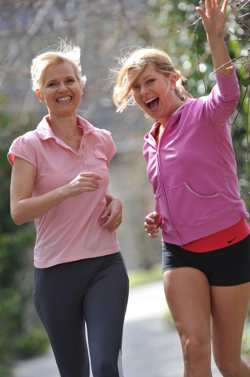 Bojana Golenac und Karin Thaler