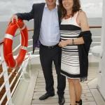 Tom Buhrow und Frau Sabine Stamer