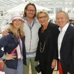 Frauke Ludowig und Mann Kai Roeffen, Bernd Wehmeyer und Almuth Wehmeyer