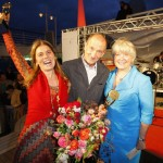 Sarah Wiener und Peter Lohmeyer sind Mr. und Mrs. Sylt