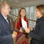 Peter Lohmeyer und Sarah Wiener, Karen Webb