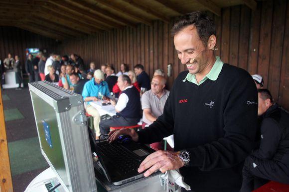 Marco Schmuck beim Golf & Cook Cup 2012
