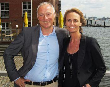 Uwe Bergmann und Katja Derow