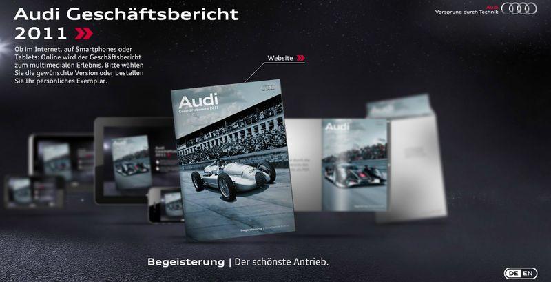 Audi Geschäftsbericht 2011