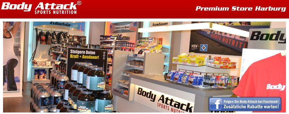 Body Attack Premium Store Hamburg-Harburg