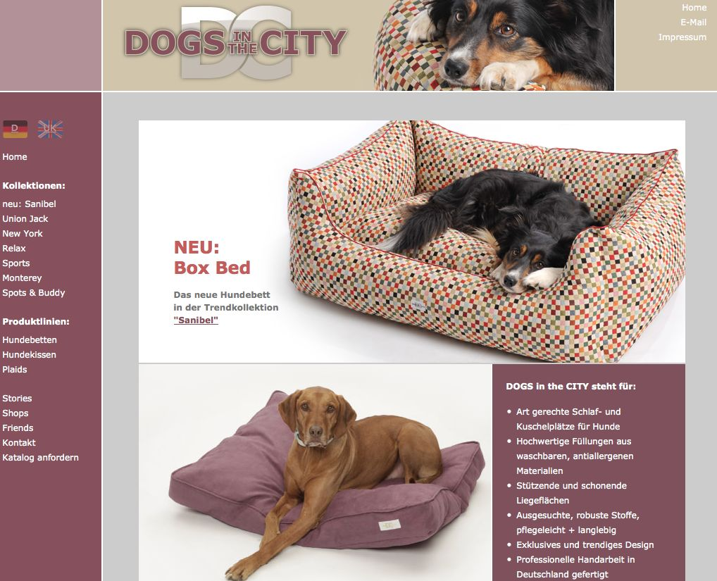 Dogs in the City, dogs-in-the-city.de