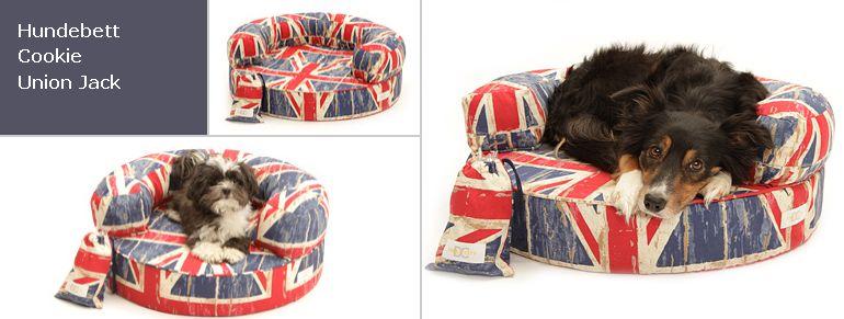 Hundebett / Cookie Union Jack