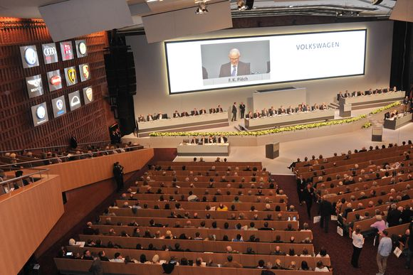 52. Ordentliche Hauptversammlung der Volkswagen AG in Hamburg