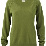 Closed Cashmere Roundneck Woolsweater in Grün, 229,- Euro