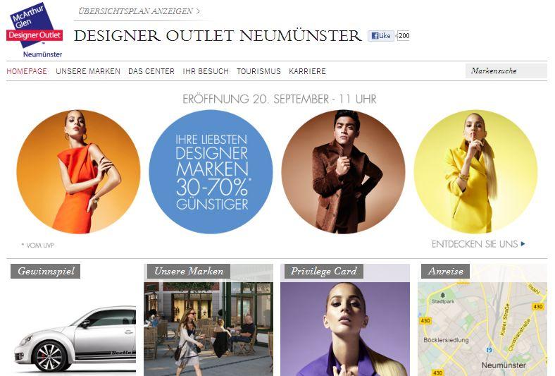 Designer Outlet Neumünster