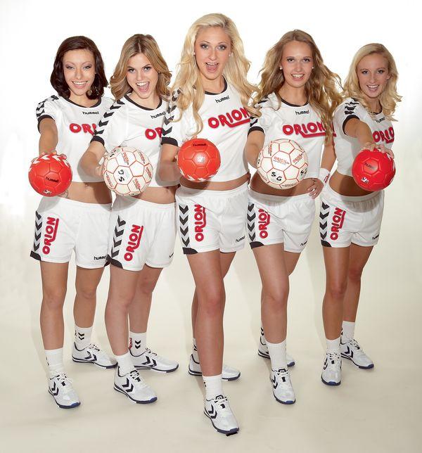 Die Orion Wischerinnen Candace, Joana, Louisa, Morlin und Kim-Lara