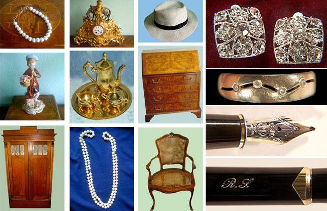 Erinnerungsstücke und persönliche Gegenstände von Romy Schneider