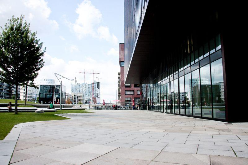 Die Räumlichkeiten vor der Einrichtung der Ausstellung
