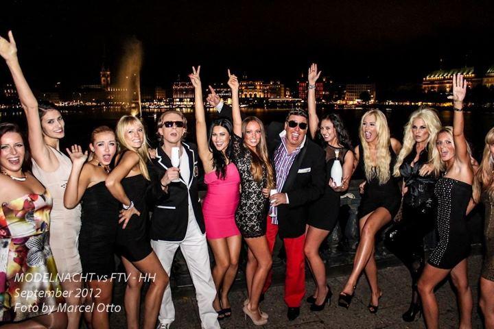 Video-Dreh Lombardsbrücke mit Gano, Ammer und Models