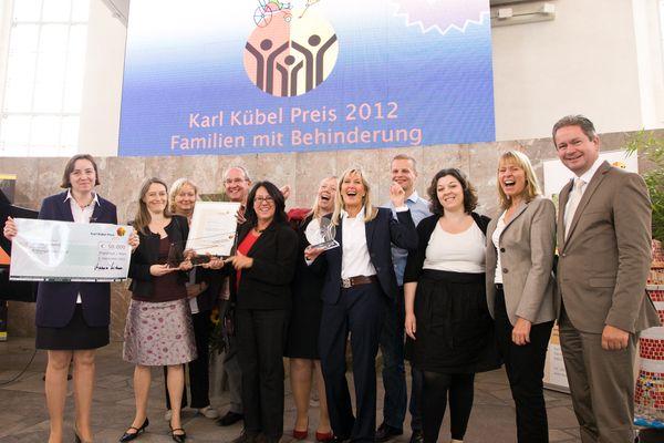 """Hamburger Projekt überzeugt und gewinnt den """"Karl Kübel Preis 2012"""""""