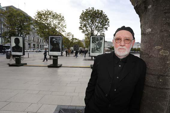 Albert Watson: Open-Air-Ausstellung am Jungfernstieg