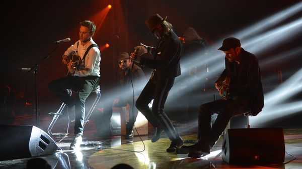 Udo Lindenberg und Clueso live beim Deutschen Radiopreis 2012