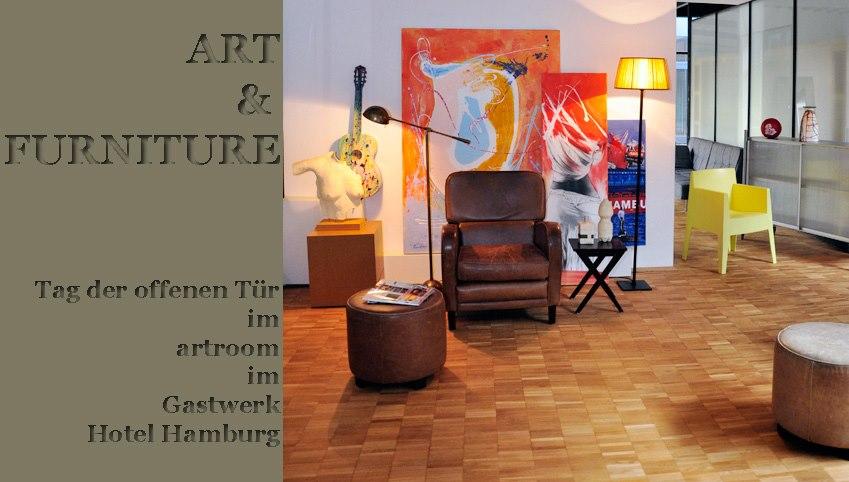 """""""Art & Furniture"""": Tag der offenen Tür im Artroom des Gastwerk Hotel"""