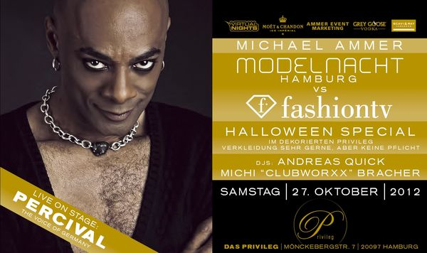 Halloween-Party am 27. Oktober: Modelnacht vs. Fashion TV Special