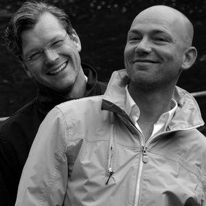 Holger Wetzel und Mike Meinert