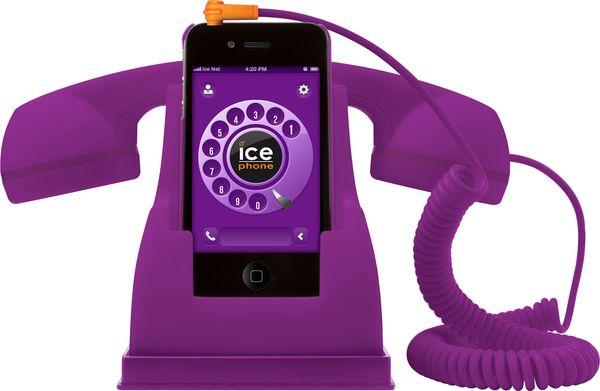 Ice-Phone lila, 49,-Euro