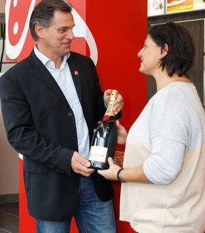Karsten Freigang und Michaela Pourgiazos