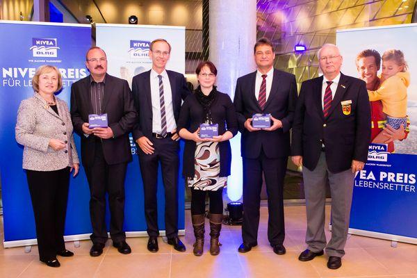 Preis für Lebensretter 2012 in Hamburg verliehen