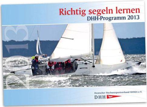 DHH: Programm für die Segelsaison 2013