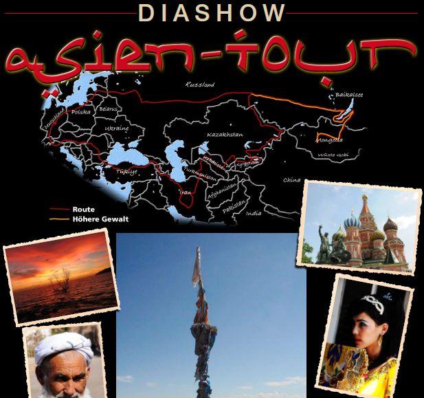 """Dia-Vortrag """"Mit 16 Pfoten in die Mongolei"""""""