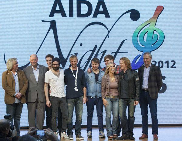 Anastacia, Jupiter Jones und Mick Hucknall gaben Livekonzert auf AIDAblu