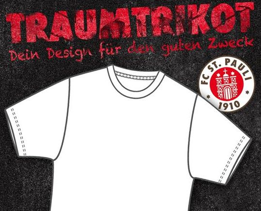 Trikot des FC St. Pauli designen
